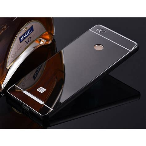 Aluminium Bumper With Mirror Back Cover For Xiaomi Redmi Note 3note 3 aluminium bumper with mirror back cover for xiaomi redmi 3 pro black jakartanotebook