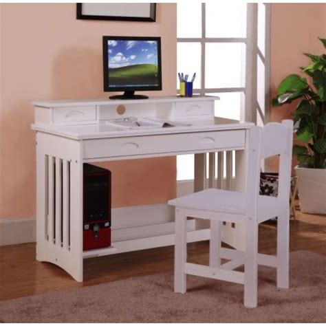 student white desk white student desk with hutch