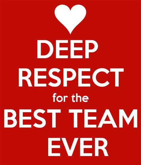 deep respect for the best team ever poster lonneke