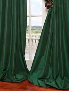 Emerald Green Curtains Get Emerald Green Faux Silk Taffeta Swatch Sles