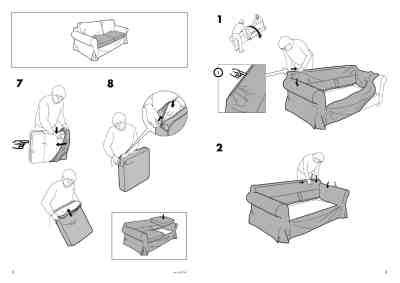 ektorp sofa bed instructions ikea ektorp sofa bed cover furniture download user guide