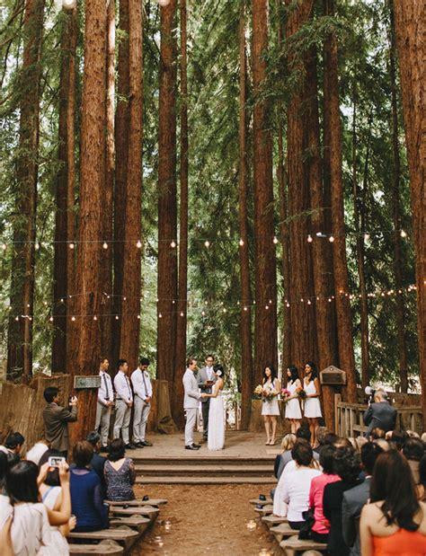 redwood wedding on california wedding venues - Wedding Venues In Redwoods