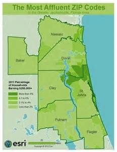 northeast florida zip code map pin by nocatee homes on real estate news