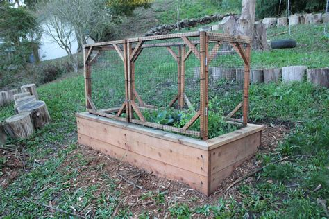 garden raised beds woodwork raised bed gardening plans hillside pdf plans
