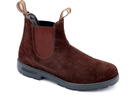 brown suede leather chelsea boots s style 1458