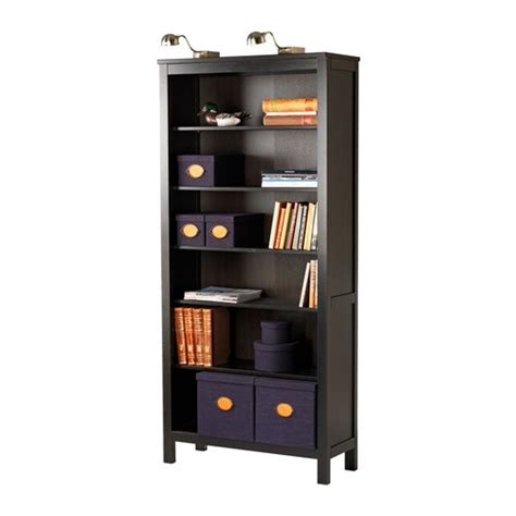 ikea ikea hemnes bookcase black hemnes bookcase black brown ikea home buy soon