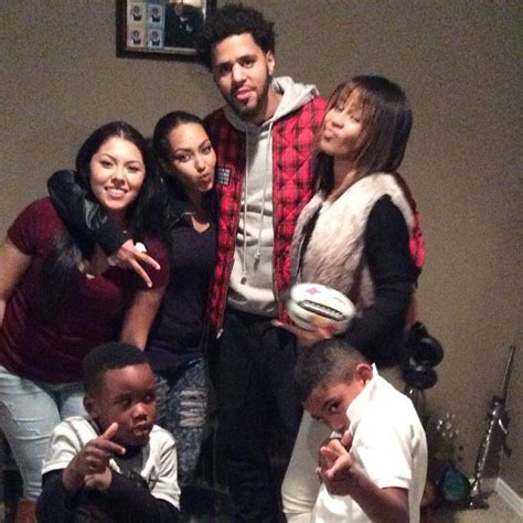 J. Cole Give's One Lucky Fan & Her Family An Early Listen ... J Cole Parents