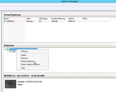 how to manually merge hyper v snapshots into a single vhd five best hyper v 3 0 features live merging of vm
