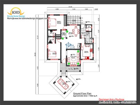 kerala house plans below 2000 sq ft home plan and elevation 2000 sq ft kerala home design and floor plans