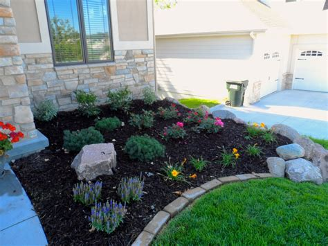 pictures of flower beds perennial flower bed