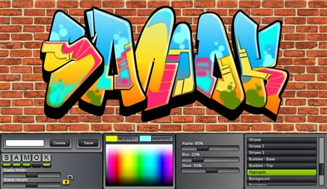 Design Graffiti Online   graffiti creator styles graffiti creator