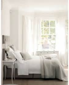 white and grey bedroom faded white linen muted greys and dusky pink