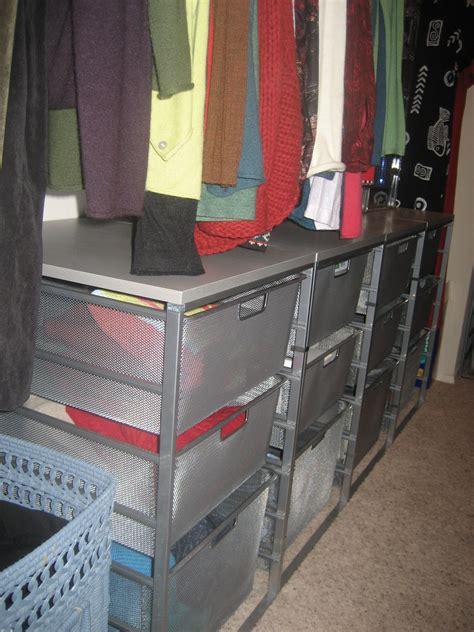 mesh closet drawers hot closet storage drawers mesh roselawnlutheran
