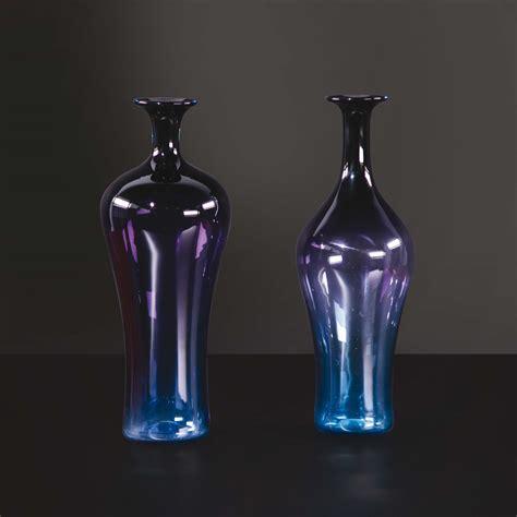 vasi di murano coppia di vasi in vetro di murano design cambi casa d