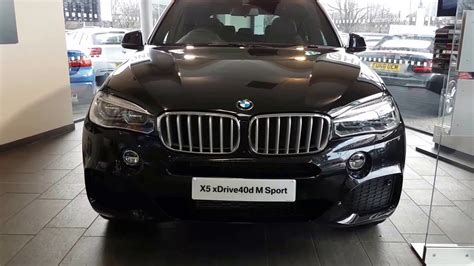 bmw x5 40d m sport review the new 2016 bmw x5 xdrive 40d m sport interior and