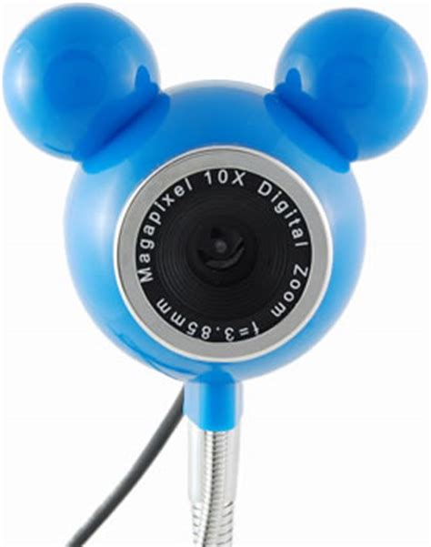 coolest gadgets mickey mouse webcam with usb hub and fan