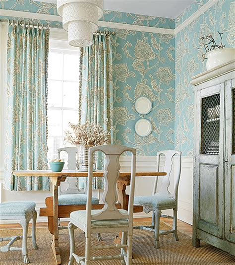 Wallpaper In Dining Room by Rooms Using Lots Of Wallpaper Traditional Dining Room