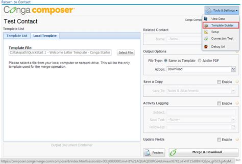 sfdc 3 16 how to use conga composer in salesforce