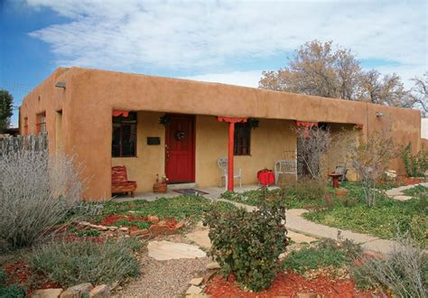 pueblo revival houses in santa fe restoration design adobe pueblo revival downtown historic phoenix real estate