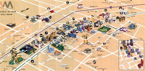 map of downtown las vegas what happens in vegas tasty island