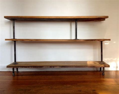 25 best ideas about pipe bookshelf on