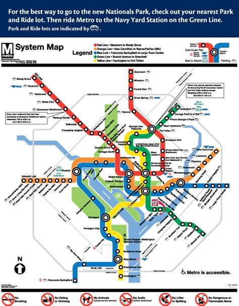 washington dc metro map navy yard directions to nationals park washington nationals