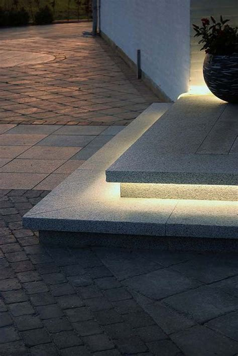 Step Lighting Outdoor 30 Astonishing Step Lighting Ideas For Outdoor Space Architecture Design
