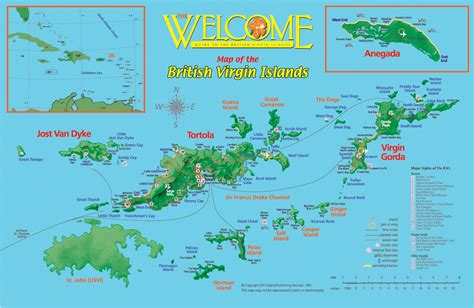 st bvi map retire in the islands caribbean