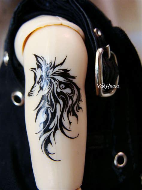 wolf tribal tattoo wolf tribal armband tattoos
