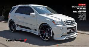 Mercedes Performance Mercedes Ml W164 Tuning Wide Kit Lenzdesign