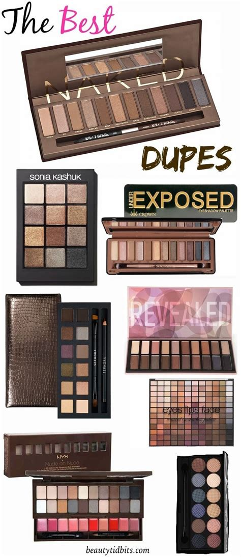 best decay palette 7 affordable dupes for decay s palette dupes