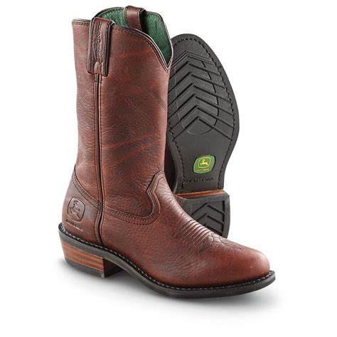 the boots mens s deere 174 12 quot western work boots black raspberry