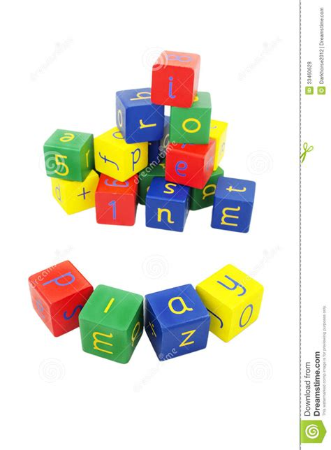 sarah dawn designs building blocks for finding the letter and number blocks royalty free stock photos image