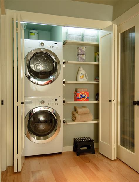 Compact Laundry Design Ideas   efficient use of the space 19 small laundry room design ideas