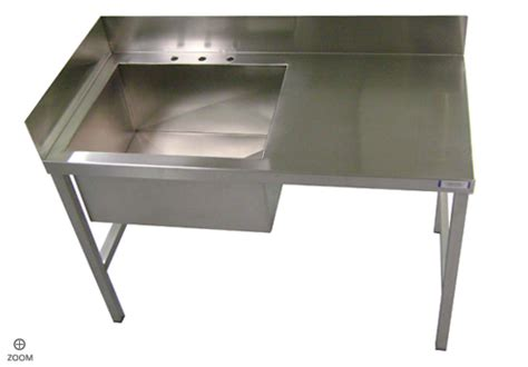 Industrial Kitchen Sinks Stainless Steel Kitchen Sinks Welded Stainless Steel Industrial Sink Table With Backsplash
