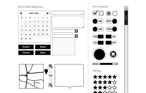 30 Free Web And Mobile Wireframe Templates Illustrator Wireframe Template
