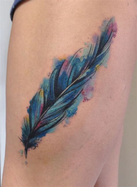 watercolor tattoo feathers 30 most beautiful feather for golfian