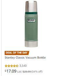 stanley thermos & insulated food jars on sale thrifty nw mom