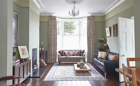 Period Living Room With A A Renovated Semi Detached Home Period Living