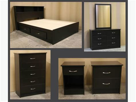 full bedroom suite new espresso dark brown double full bedroom suite richmond