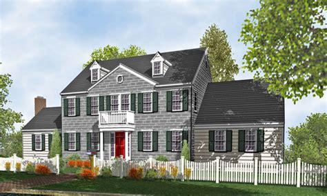 colonial style homes colonial two story home plans for