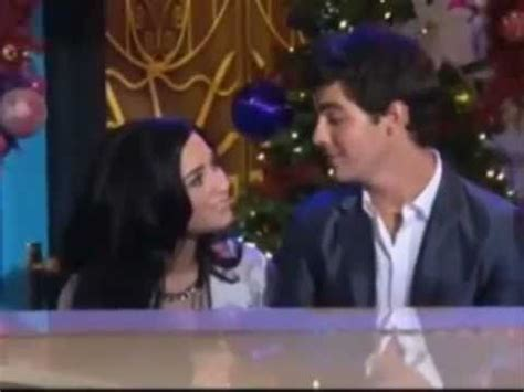 demi lovato joe jonas christmas song demi lovato joe jonas sing my song for you music video