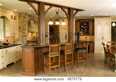 high end küchen countertops high end kitchen image photo bigstock