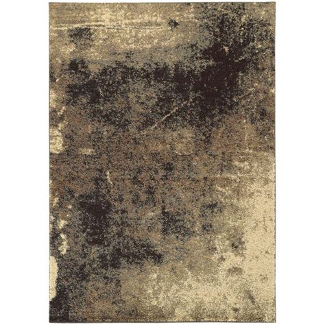Home Decorators Collection Avalon Shag Gray 4 Ft X 6 Ft 6 Foot Area Rugs