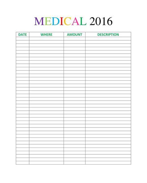 printable medical organizer 74 best organize images on pinterest notebook