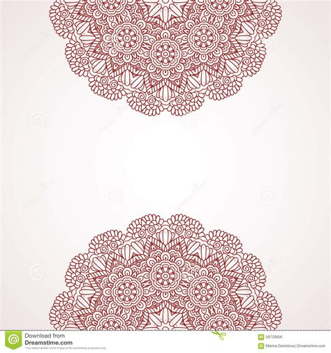 henna tattoo background mehndi henna design background stock vector image 58733656