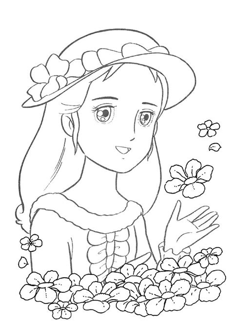 Coloriage Princesse Sarah 224 Imprimer