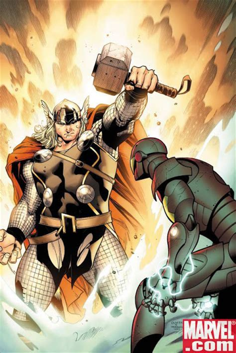 thor 2 vs iron man 3 in marvel battle wtop truncheon the camerlengo thor vs iron man post civil war