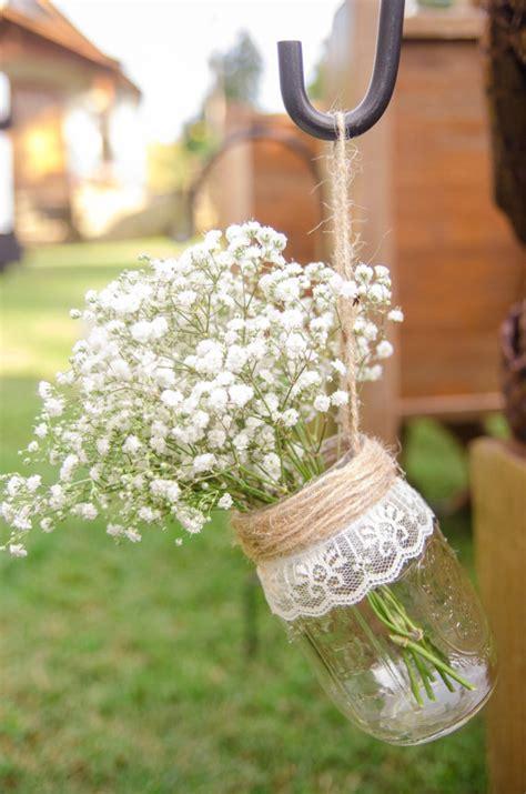 Wedding Aisle Vases by Hanging Jar Vases Set Of 8 Wedding Aisle Decor Rustic
