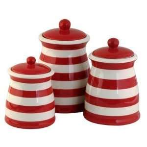 Rooster Kitchen Canister Sets by Red Ceramic Rooster Canister Set By Collections Etc On